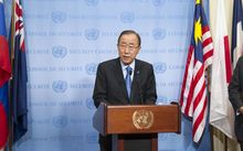 "UN Secretary-General Ban Ki-moon urged the UN Security Council to take ""appropriate action"" in response to North Korea's fifth nuclear test."