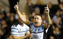 James Maloney of the Cronulla Sharks.
