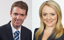Colin Craig, left, and Rachel MacGregor