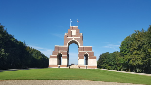 The Somme memorial