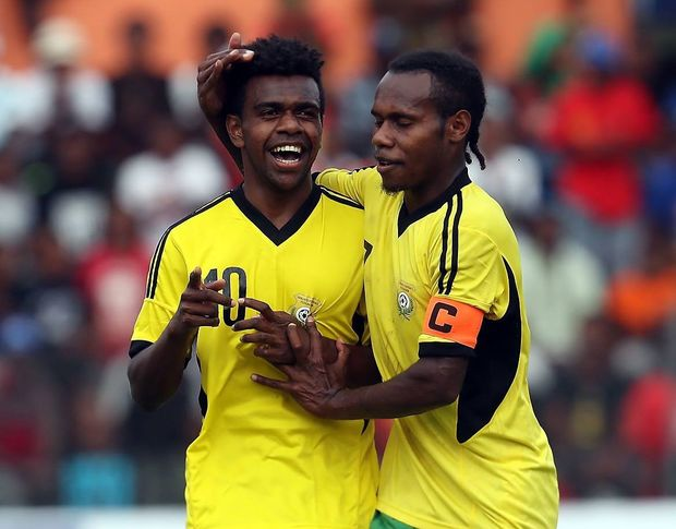 Vanuatu are hoping for more reasons to celebrate at the OFC Under 20 Championship.