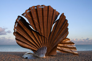 The Scallop by Maggi Hambling