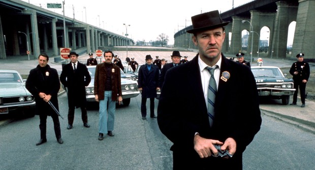 Gene Hackman as 'Popeye' Doyle in William Friedkin's 1971 Oscar winner The French Connection
