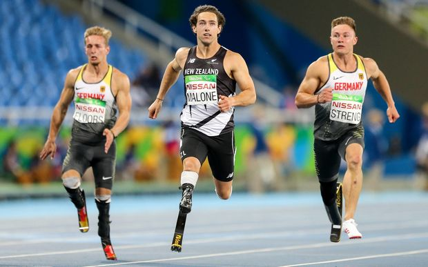 Liam Malone has added the 200m gold medal to his 100m gold.