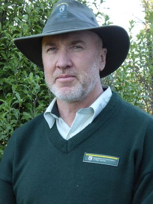 Department of Conservation's North Canterbury manager, Kingsley Timpson.