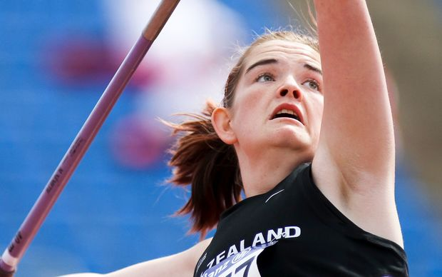 NZ para-athlete Holly Robinson.