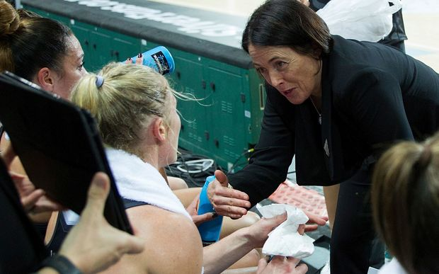 Silver Ferns coach Janine Southby