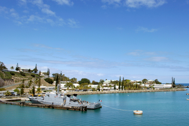 French Navy vessel in New Caledonia