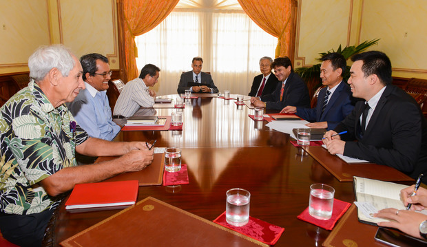 French Polynesian government receives delegation from China Railway International Group