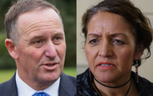 John Key and Marama Fox
