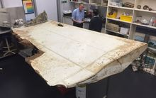 A large piece of debris found in Tanzania recently which has been confirmed as a part of a wing flap from missing Malaysia Airlines passenger jet MH370.