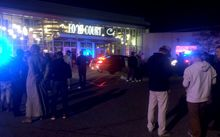 The stabbing attack occurred at the Crossroads Center mall in St. Cloud, Minnesota.
