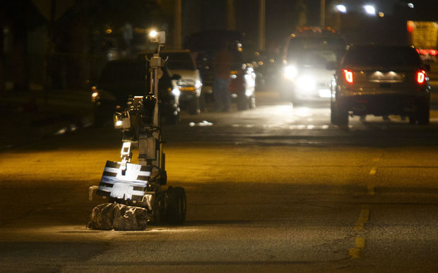 A bomb disposal robot. (file photo)
