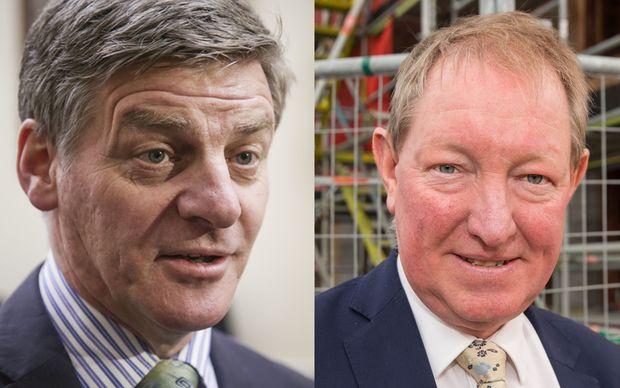 Deputy Prime Minister Bill English, left, and Minster for the Environment Nick Smith.