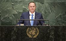 Prime Minister John Key has delivered a speech to the United Nations General Assembly ahead of the Security Council meeting on Syria he will chair tomorrow.