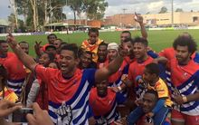 The West Papua Warriors team.