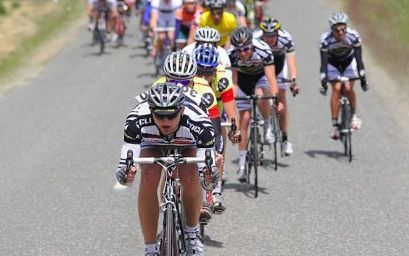 Hamish Bond competing in the 2009 Tour of Southland