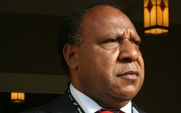 Papua New Guinea foreign minister Rimbink Pato.