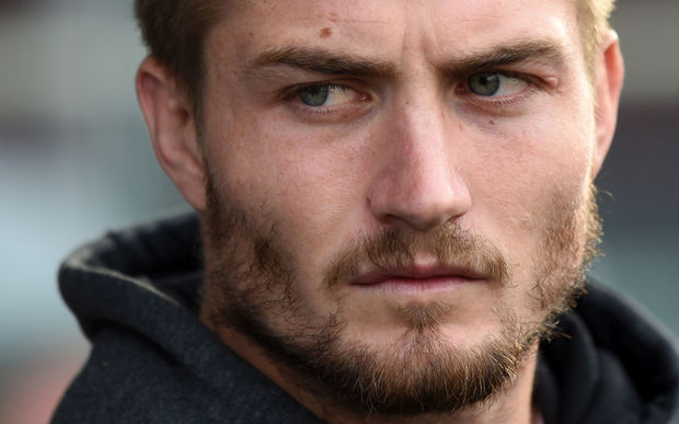 Kieran Foran during the New Zealand Kiwis v England match in Dunedin in November 2014.