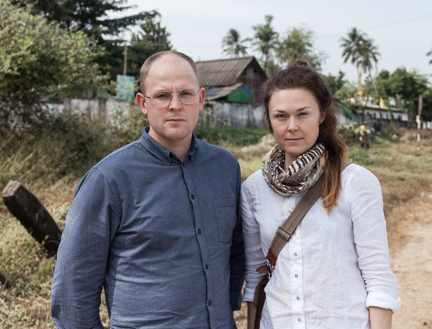 Moa Kärnstrand and Tobias Andersson Åkerblom talked to factory workers in Myanmar who made clothes for H&M.