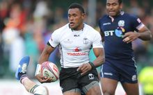 Amenoni Nasilasila in action for Fiji on the World Sevens Series.