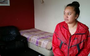 Faith Davis was told to vacate an Auckland motel room after it was bought by Housing New Zealand.