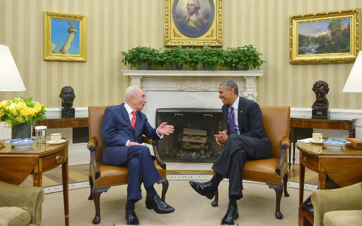 Barack Obama called Shimon Peres a 'dear friend' in a statement.