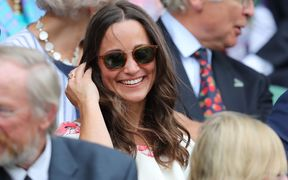 Pippa Middleton at the Wimbledon tennis championships in June 2016.