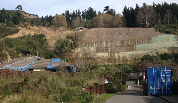 The old quarry was stabilised at a cost of $1 million.