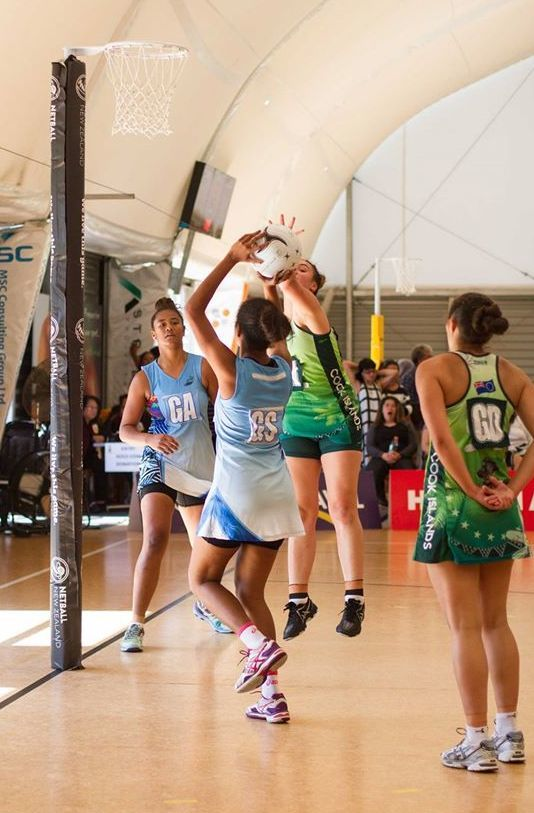 Fiji and the Cook Islands clash in the final of the Oceania U21 netball qualifiers.