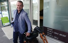 Cerebral palsy has not stopped Northland man Johnny Wilkinson from entering local government.