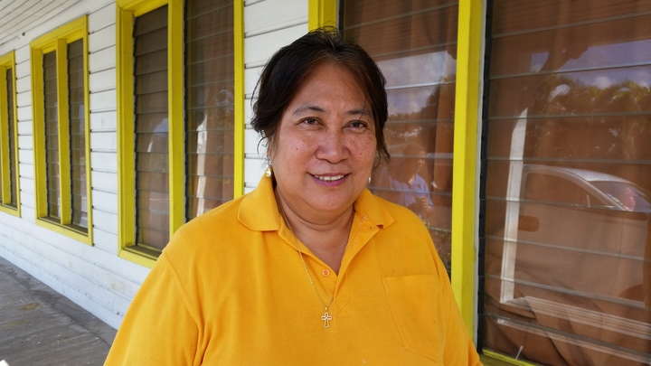 Muli-aga Teli Sili-niu Lina Chang says more and more women married into families in other villages are asking for help.
