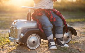 Child, child on toy car, child generic, child file