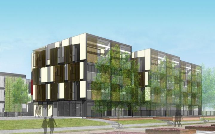 The planned 'relocatable' apartments for Porirua.