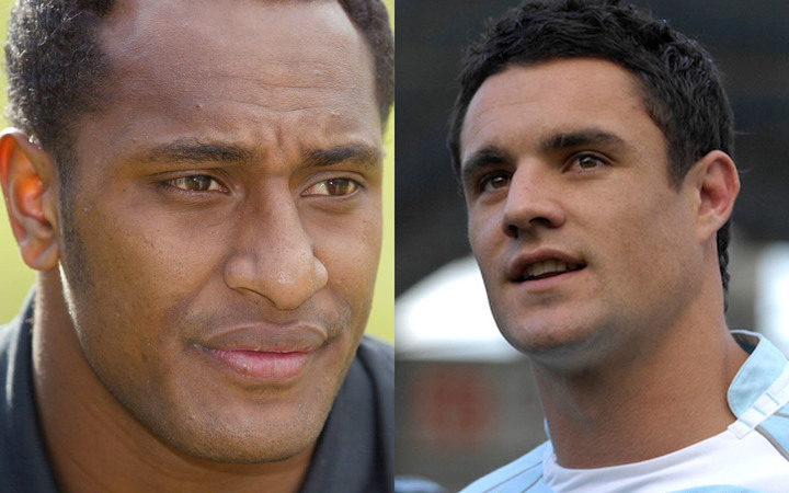 Joe Rokocoko, left, and Dan Carter