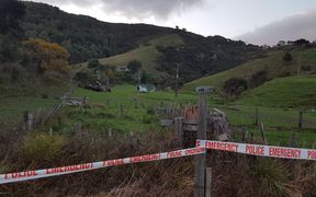 Police have been guarding the property where three people were found dead in Tahāroa last night.