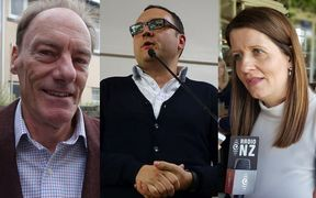 John Minto, Nick Leggett and Vic Crone were runners-up at the Christchurch, Wellington and Auckland elections.
