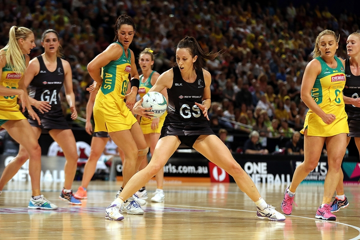 Bailey Mes in action against Australia during the 2016 Constellation Cup Test series