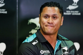 Kiwis coach, David Kidwell