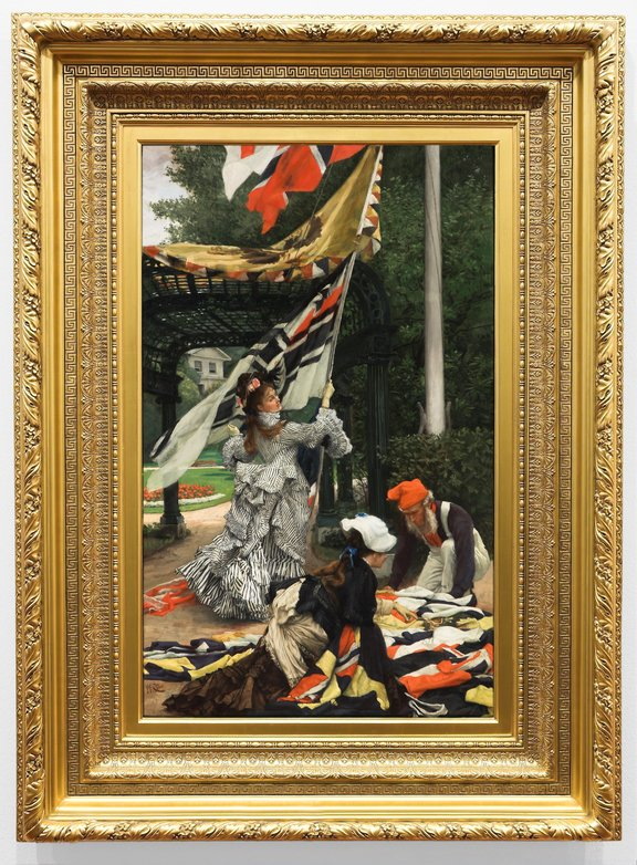 The Tissot painting 'Still on Top' stolen from the Auckland Art Gallery in 1998, later found and returned.