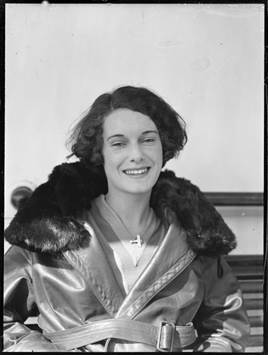 Jean Batten on October 16th 1936