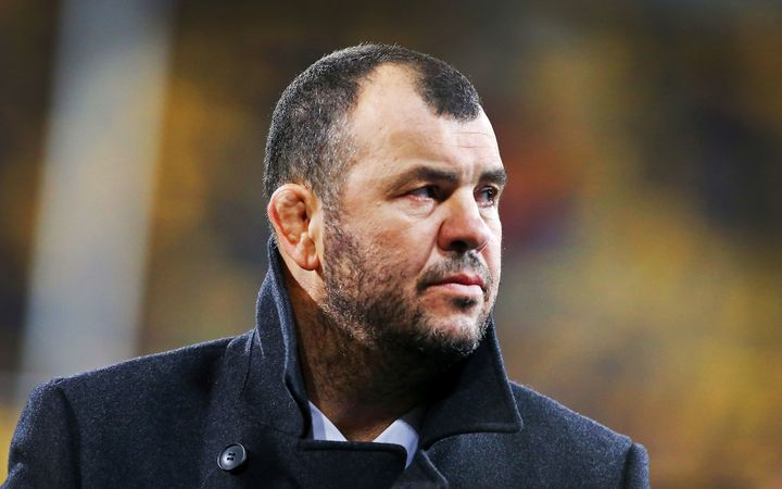 Wallabies coach Michael Cheika.