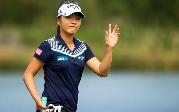 Ciganda wins first LPGA crown in Korea play-off
