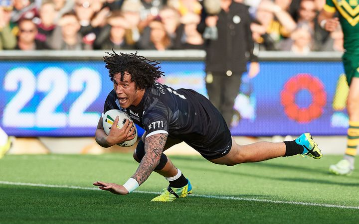 Kevin Proctor scores for the Kiwis 2016.