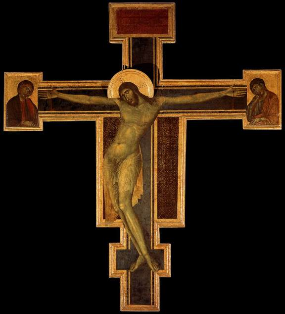 Crucifix (1287-1288) by Cimabue