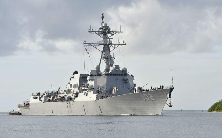 US navy destroyer cleared to visit NZ | RNZ News