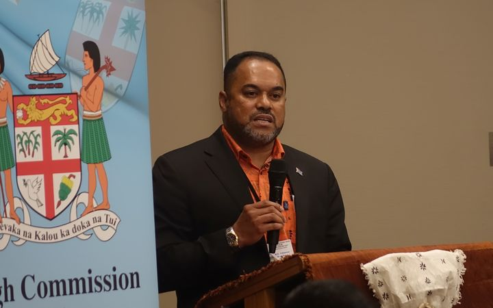 Fiji's High Commissioner to New Zealand Filimone Waqabaca