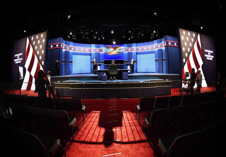 The third and final debate takes place at University of Las Vegas, Nevada.