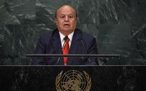 Yemen's exiled President Abd-Rabbu Mansour Hadi addressed the United Nations General Assembly last month.