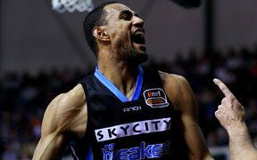 New Zealand Breakers captain Mika Vukona.